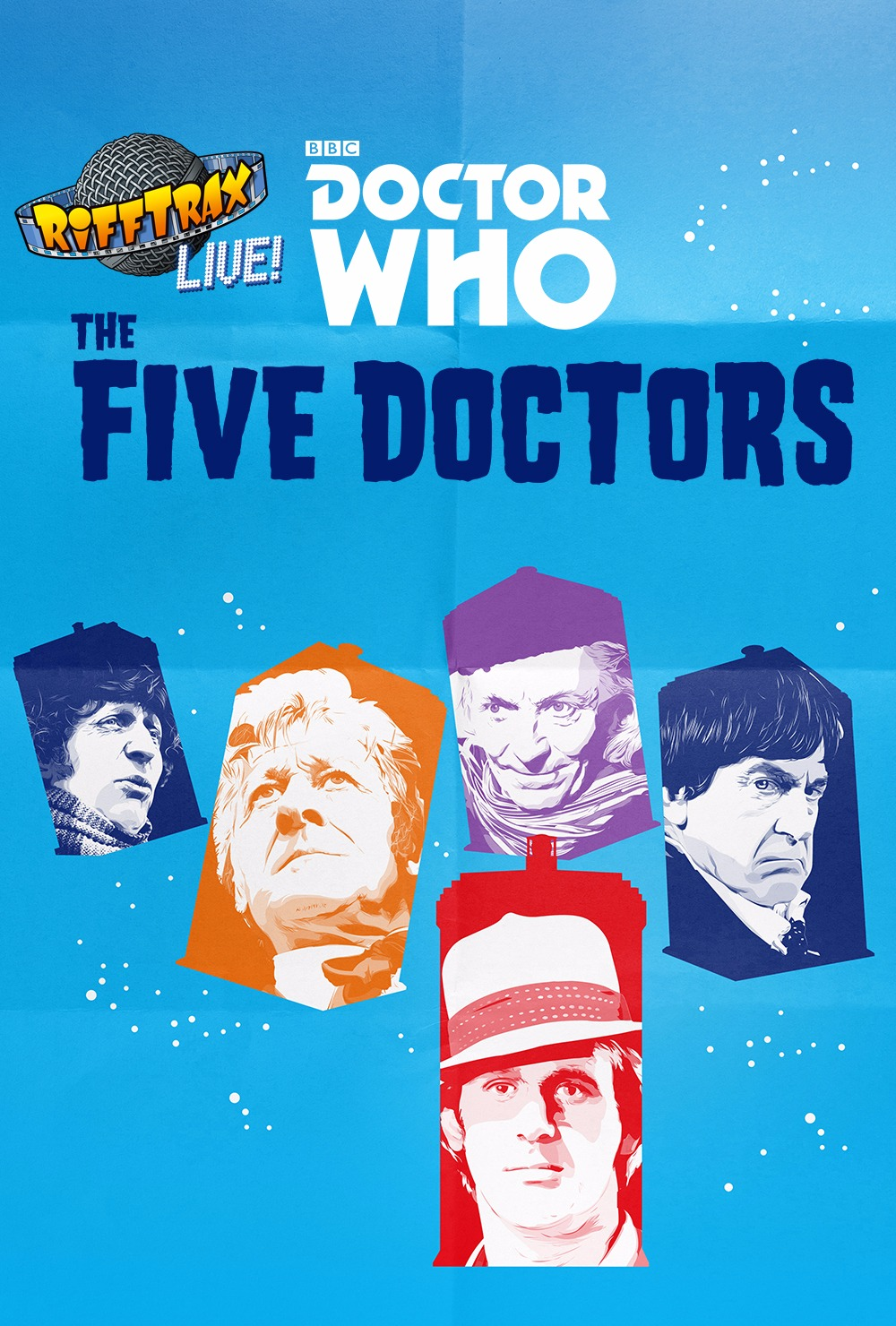 "RiffTrax Live: Doctor Who ""The Five Doctors"""